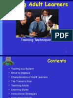 Training Techniques mba ia nor