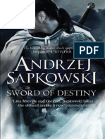 Sword of Destiny (The Bounds of Reason) by Andrzej Sapkowski Extract