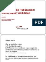 """""""Estrategias de publicación"""