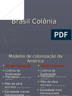 Brasil Colonia Atua Liza Do