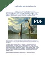 ¿Existió Una Civilización Que Convivió Con Los Dinosaurios