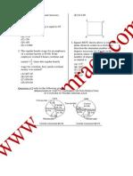 GMAT Entrance Test Question Paper 08