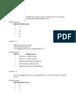 GMAT Entrance Test Question Paper 14