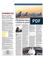 Flydubai Launches New Routes to Push Boundaries - Gulf Times Qatar 14 May 15
