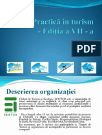 Mapa Practica in Turism 2014