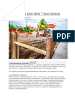 051415 Keep Workers Safe While Trench Shoring