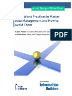 The 8 Worst Practices in Mdm and How to Avoid Them