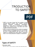 Introduction to Safety