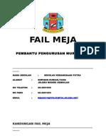 Fail Meja Ppm Asrama 2015