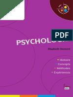 DEMONT La Psychologie