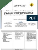 Certificado Nr10-Sep Edson