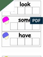 Letter Tile Words