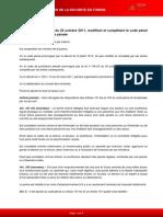 Tunisia Penal Code (2011/106) // Le Code de Procédure Pénale