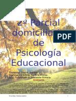 Parcial Domiciliario de Psicología
