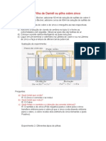 Relatório  Química