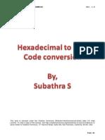 mpu8085_hexadecimal2bcd