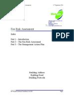 (522146149) Mark Fire Risk Assessment