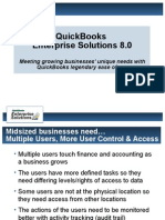 QuickBooks Enterprise Edition v8 Acct2EndUser
