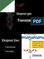 Biokim Biosintesis Protein Translasi 2015