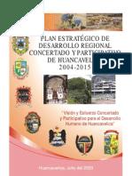 Plan EstratÉgico de Desarrollo Regional Concertado y