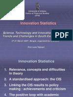 236210 Innovation Statistics(Nayagan B)