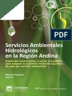 Servicios Ambientales Hidrologicos en La Region Andina