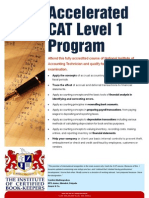 CAT Accelerated Level 1