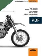 2014 KTM 350 EXC-F manual