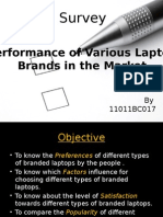 Laptops Survey in india