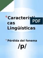 Características Lingüísticas de Las Lenguas Celtas