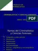 Criminalistica II Clase
