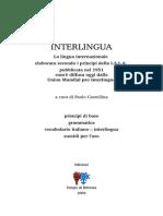 Manuale dell'Interlingua, di Paolo Castellina