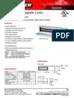 Seco-Larm 941SA Data Sheet