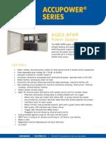Securitron AQD3-8F8R Data Sheet