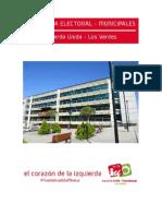 Programa electoral de IU Fuenlabrada 2015
