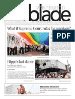 Washingtonblade.com, Volume 46, Issue 20, May 15, 2015