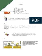 Actividades Matematicas 5 primaria