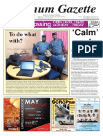Platinum Gazette 15 May 2015