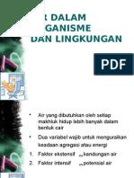 5. Air Dan Organisme