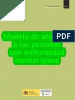 Modelo de Atencion a Las Personas Con Enfrmedad Mental Grave