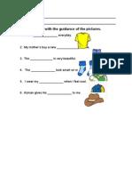 language arts worksheet