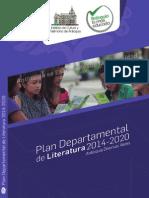 Plan Departamental Literatura 2014-2020 Antioquia Diversas Voces
