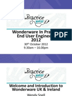 161 Wonderware in Practice Presentation 161 | Scada | Hyper V