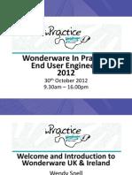 161 Wonderware in Practice Presentation 161 | Scada | Hyper V