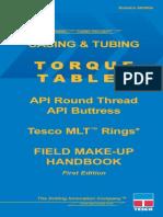 MLT Torque Ring Field Make-Up Handbook