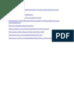Useful Links for Information