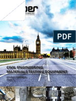 Materials Testing Equipment for Civil Engineering