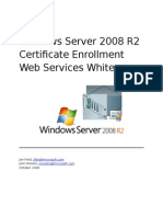 Windows Server 2008 R2 Certificate Enrollment Web Services