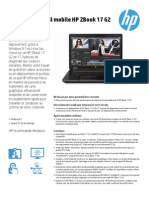 Station de Travail Mobile HP ZBook 17 G2