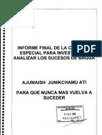 Informe Final de La Comision Bagua Doc05012010-160741
